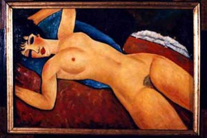 Nudo disteso, il 9 novembre all'asta da Christie's